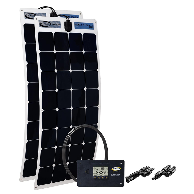Go Power 200 Watt Flexible Solar Kit The Solar Supermarket