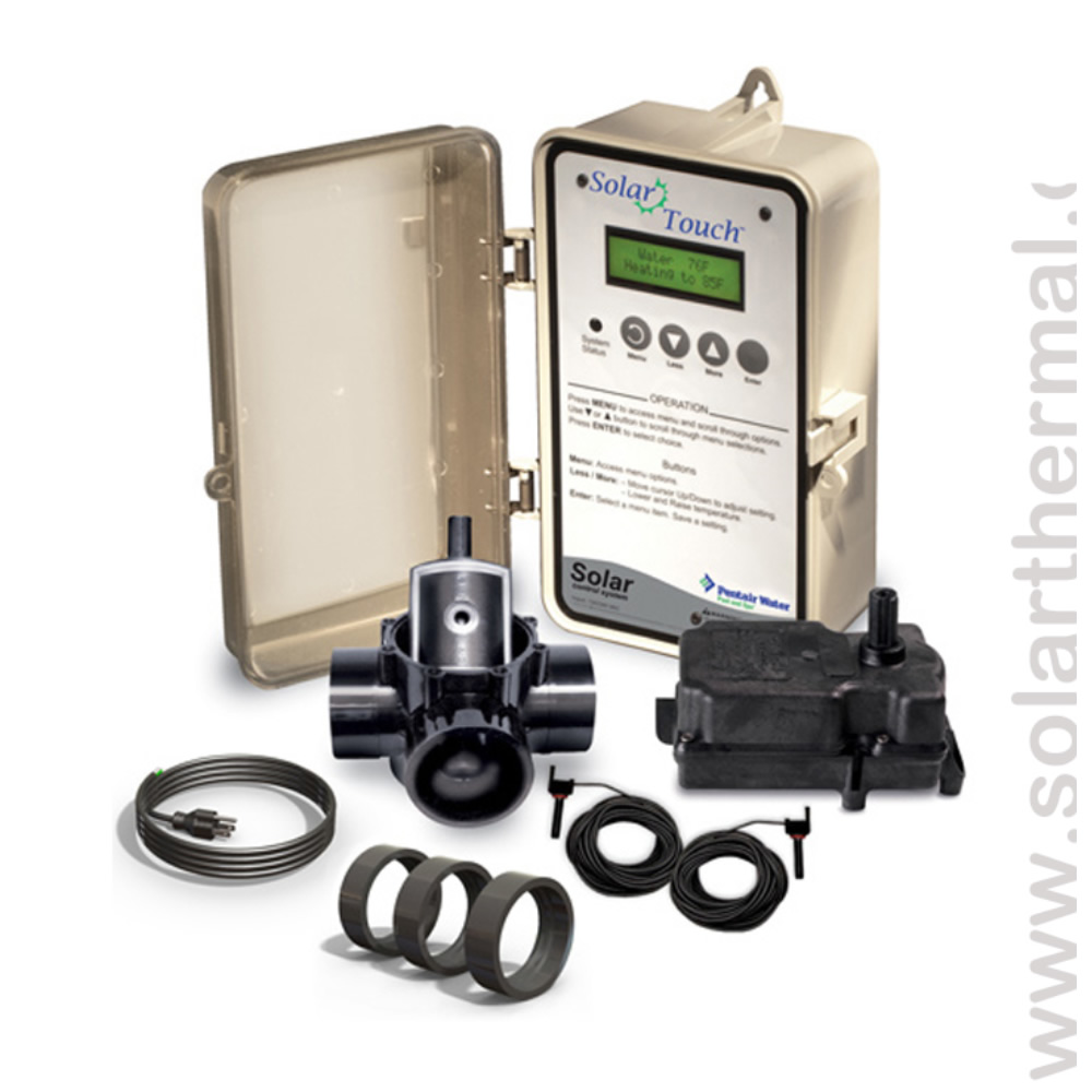 Pentair Solartouch Automatic Pool Heating Controller Kit The Solar Supermarket