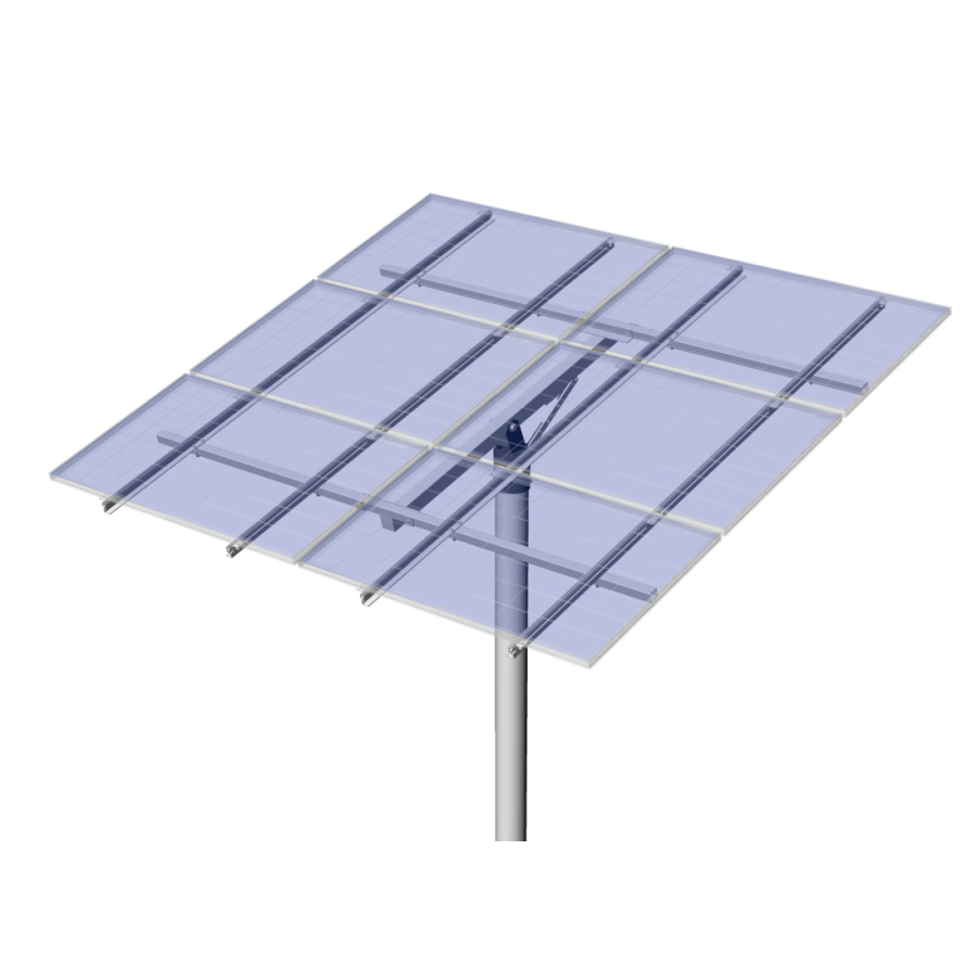 PLP Solar Top of Pole Mount