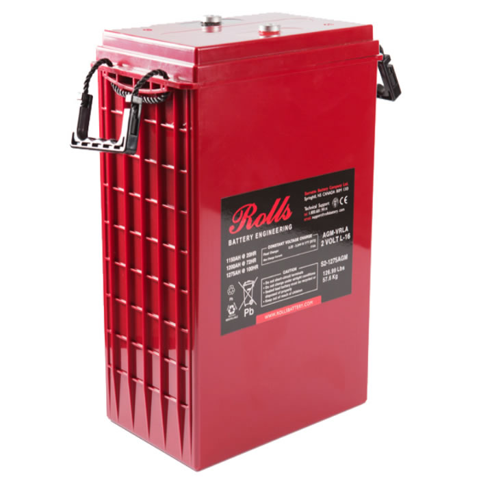 Surrette S2-1275AGM Deep Cycle Battery